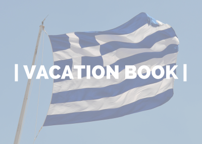 Vacation Book – Greece