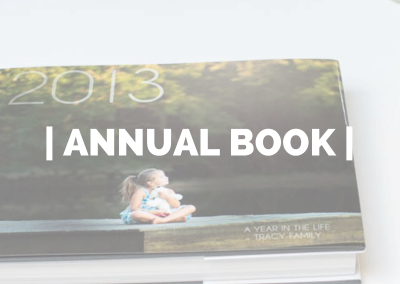 Annual Photo Book – Tracy Family