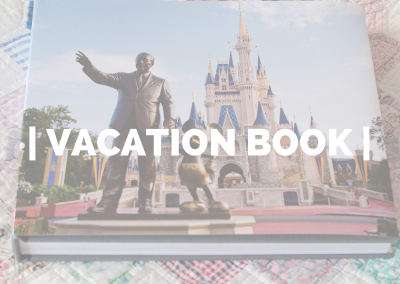 Vacation Book – Disney