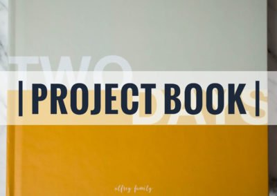 Two Days | Project Photo Book