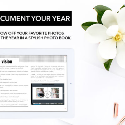 Document your Year ebook