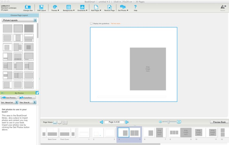 blurb indesign template - q a how to choose the best photo book program to use